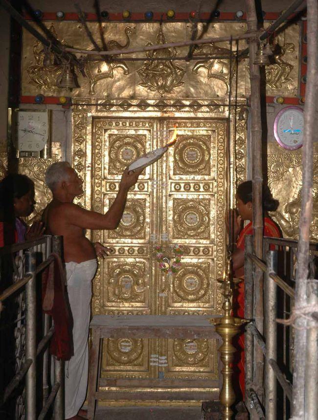 Door Of Temple Sanctum Sanctorum