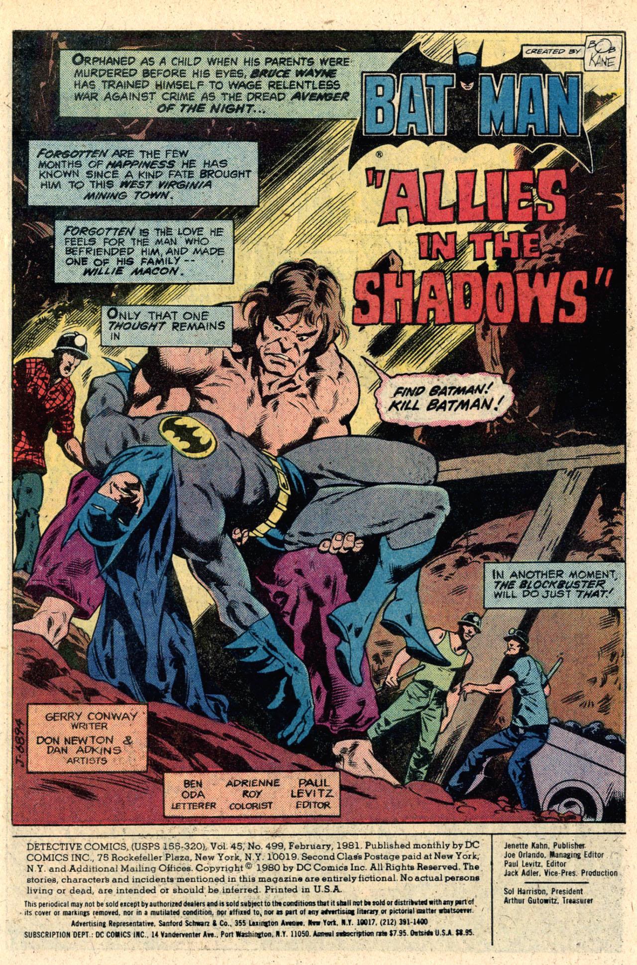 Detective Comics (1937) 499 Page 2