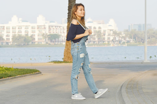 Ripped Denim Jumpsuit I can't believe summer is over! Oh, I'm wearing a super…