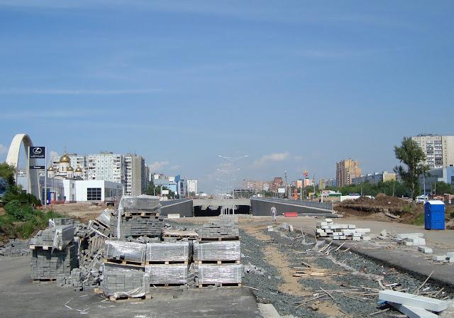 г. Самара, Московское шоссе и пр. Кирова
