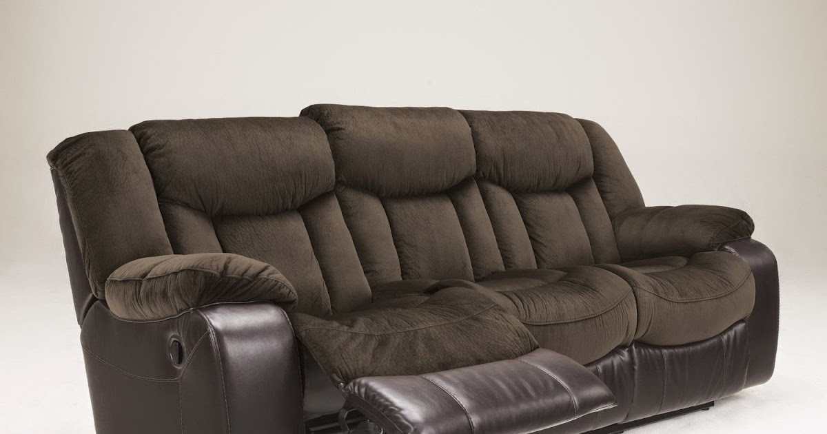 Where is the best place to buy recliner sofa ashley faux for Best place to buy a leather sofa