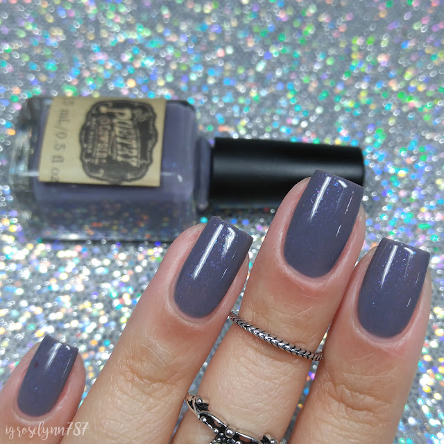 Poetry Cowgirl Nail Polish - Elephants Go Dancing