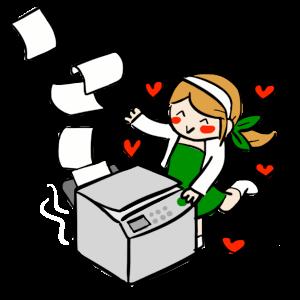 La musa y la fotocopiadora