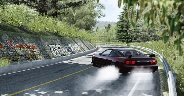 Mt  Akina Downhill - Drift - Assetto Corsa Mods