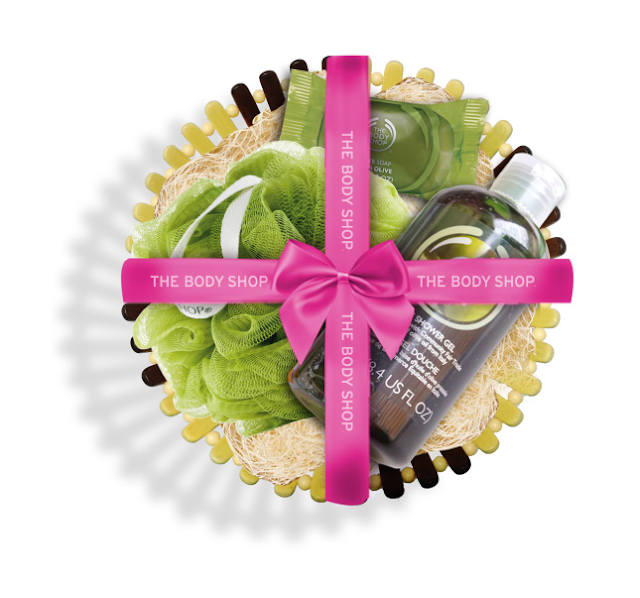 The Body Shop_Olive Gift Basket