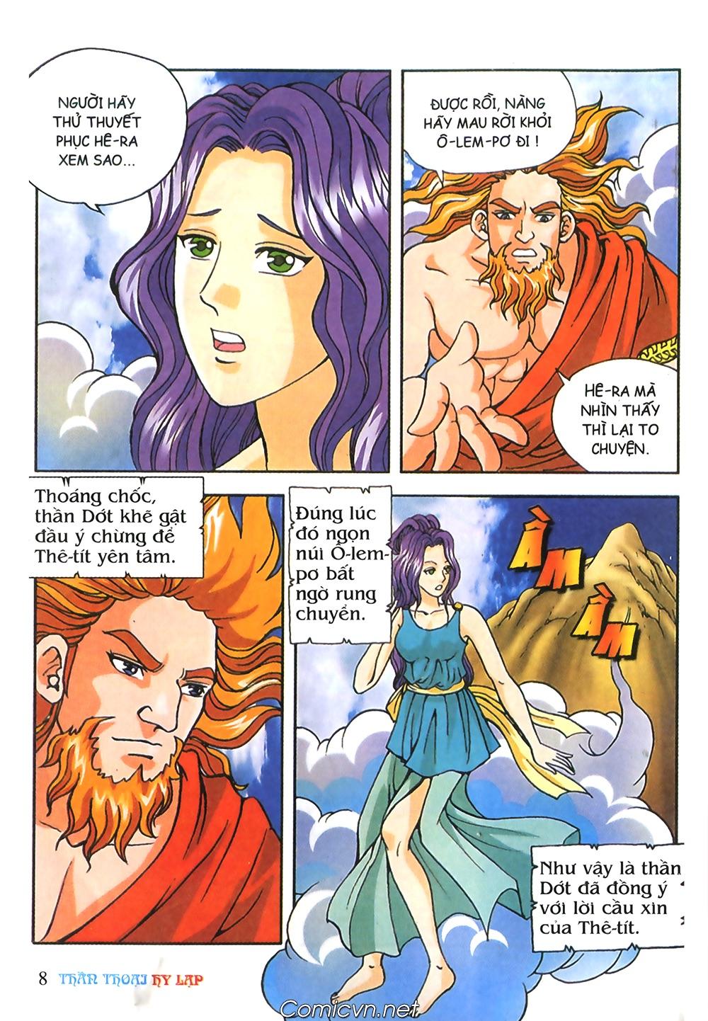 Thần Thoại Hy Lạp Màu - Chapter 57: Cuộc chiến định mệnh - Pic 7