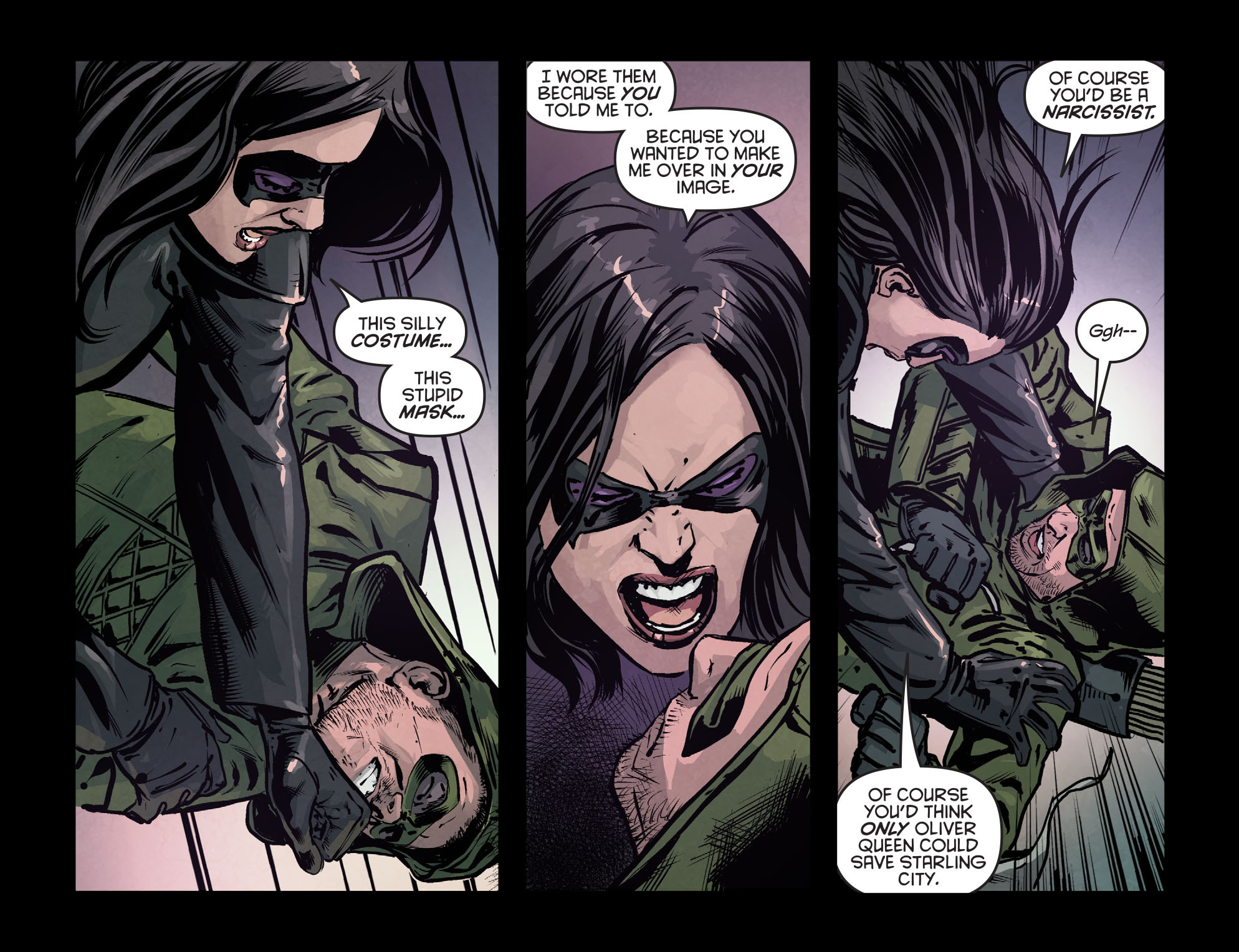 Read online Arrow: Season 2.5 [I] comic -  Issue #7 - 6
