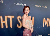 Bella Thorne looks stunnign in a designer gown at the Premiere of Midnight Sun ~  Exclusive Galleries 011.jpg