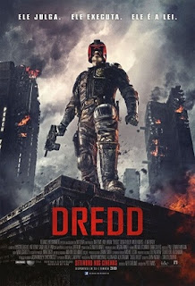 baixar capa Dredd   HDRip AVI Dual Áudio + RMVB Dublado