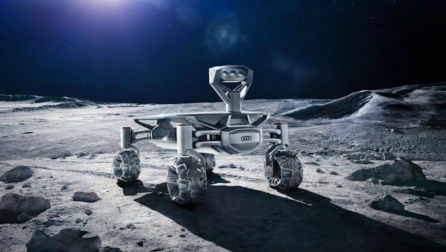 奧迪公司月球四輪車