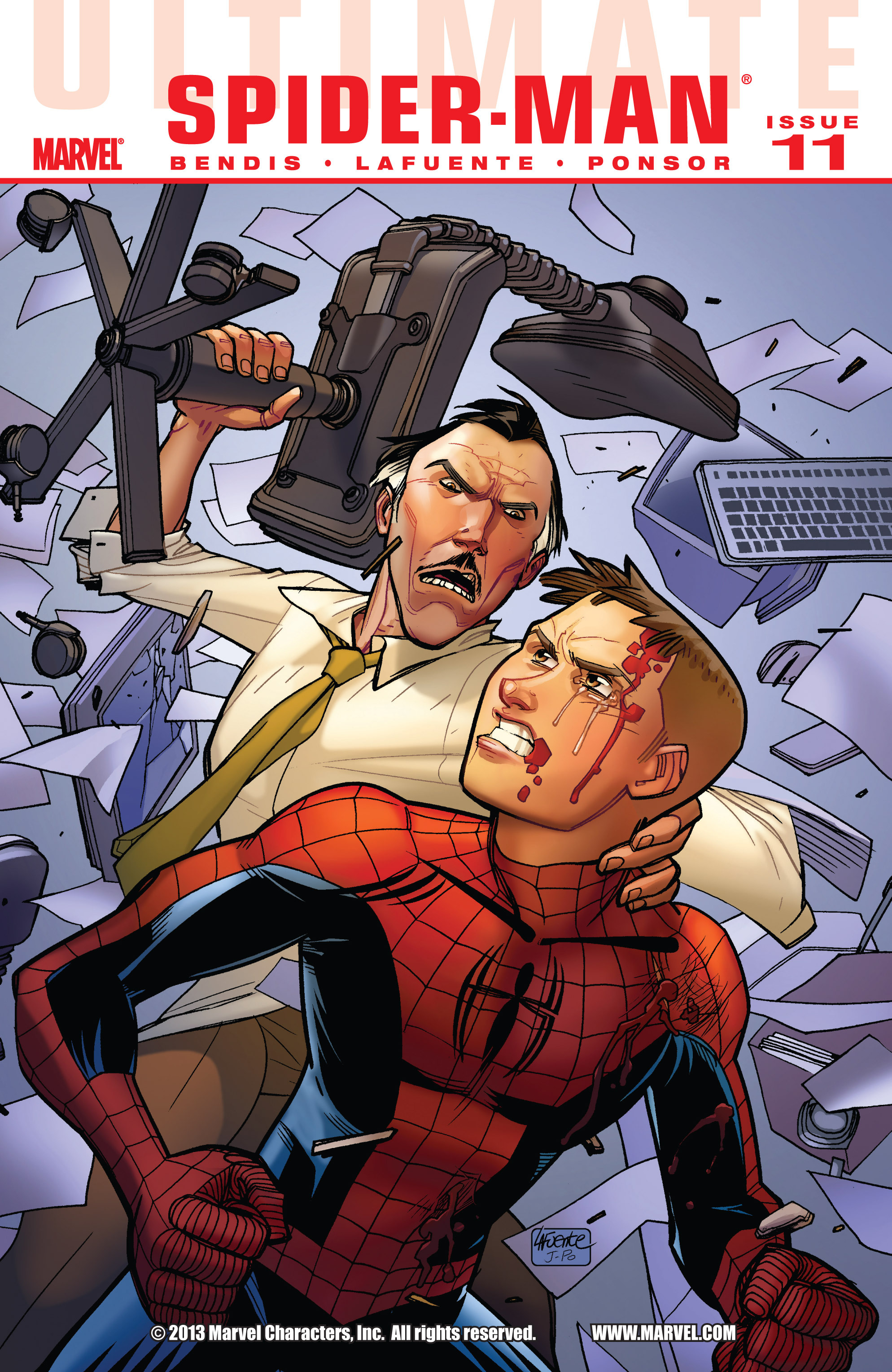 Read online Ultimate Spider-Man (2009) comic -  Issue #11 - 1