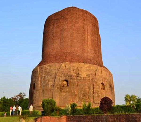 5. धमेख स्तूप (Dhamekh stupa)- Hindi Jankari