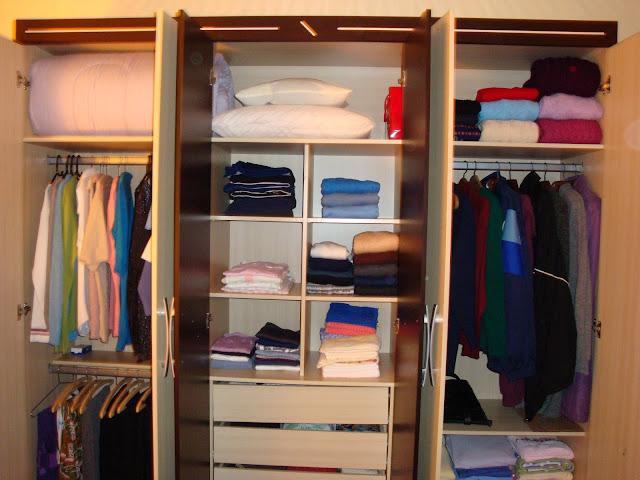 Antes e Depois | Projetos de Organização de Guarda-roupa
