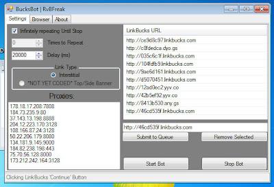 Easyhits4u Bot, Auto clicker: Adfly Bot, Linkbucks Bot, Auto Clicker