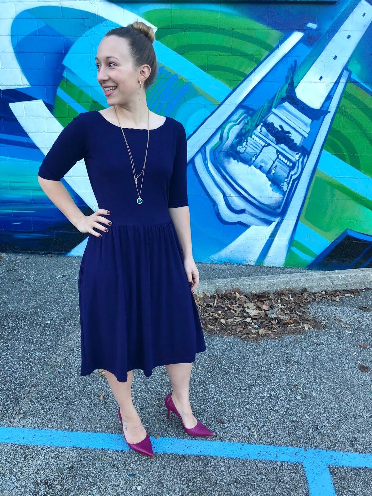 Secret Pajama Club - Moneta Dress (Minerva Craft Blog)