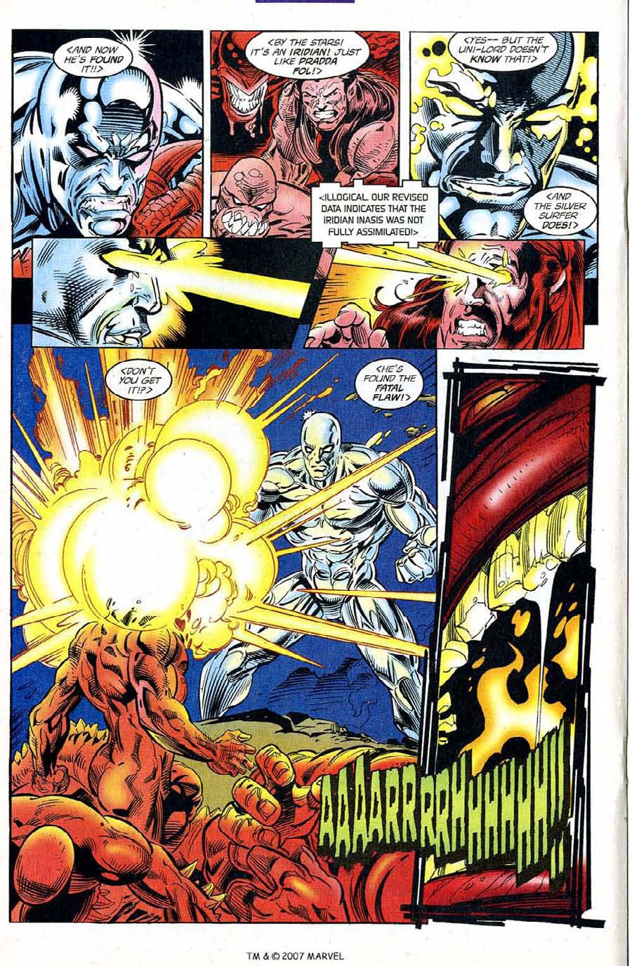 Read online Silver Surfer (1987) comic -  Issue #120 - 20