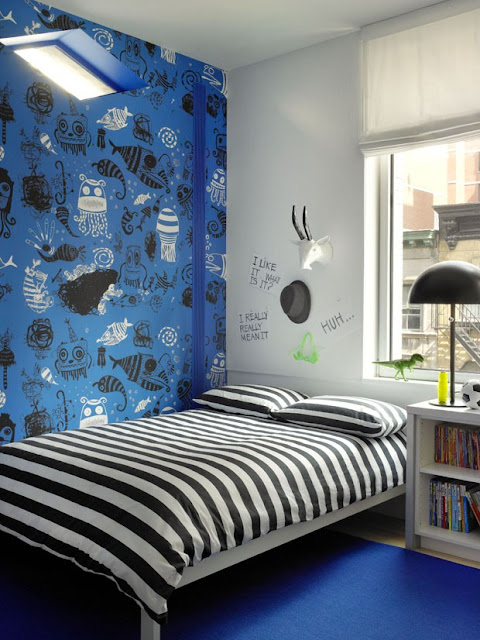 Apartamento de colores en Nueva York