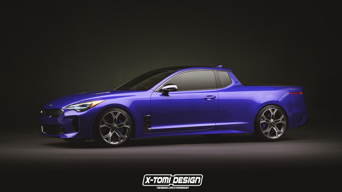 X Tomi Design Kia Stinger Pickup Gt