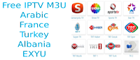 Albania arab turkey m3u8 list trt mbc bein