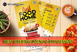10 Best Creative Menu Card Designs That Inspire