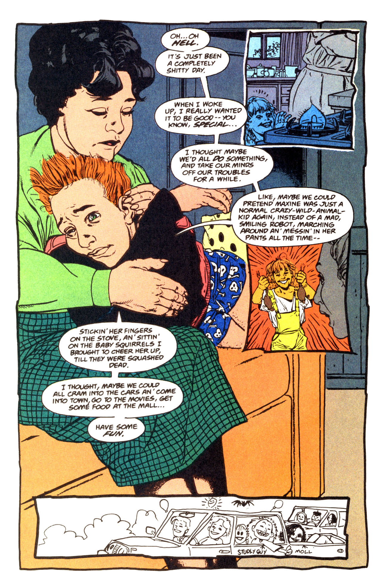 Read online Animal Man (1988) comic -  Issue #67 - 20