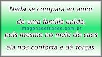 Imagens e Mensagem Dia da Família