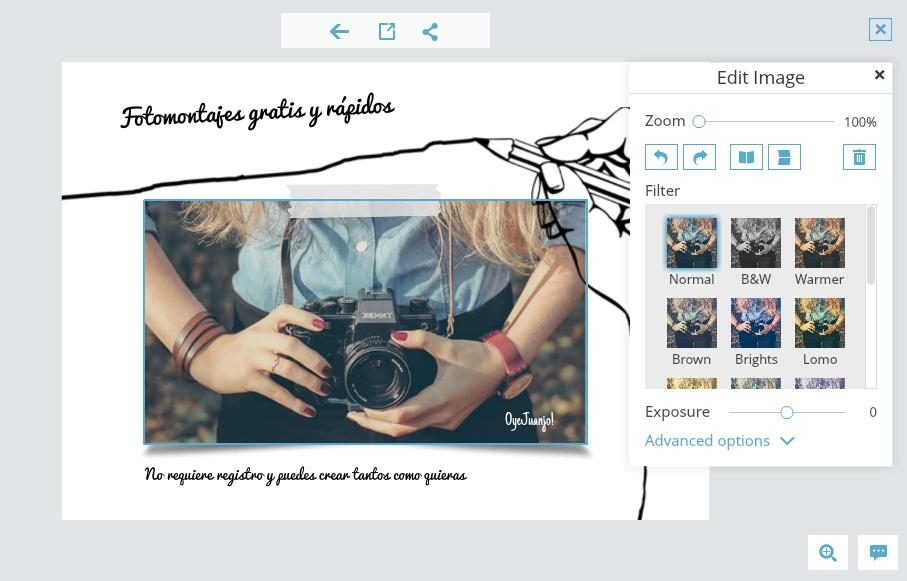 Fotojet Aplicación Online Para Crear Fotomontajes Y