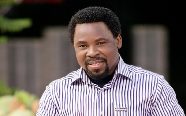 [Video] TB Joshua Predicts Foreign War on Ghana, Nigeria