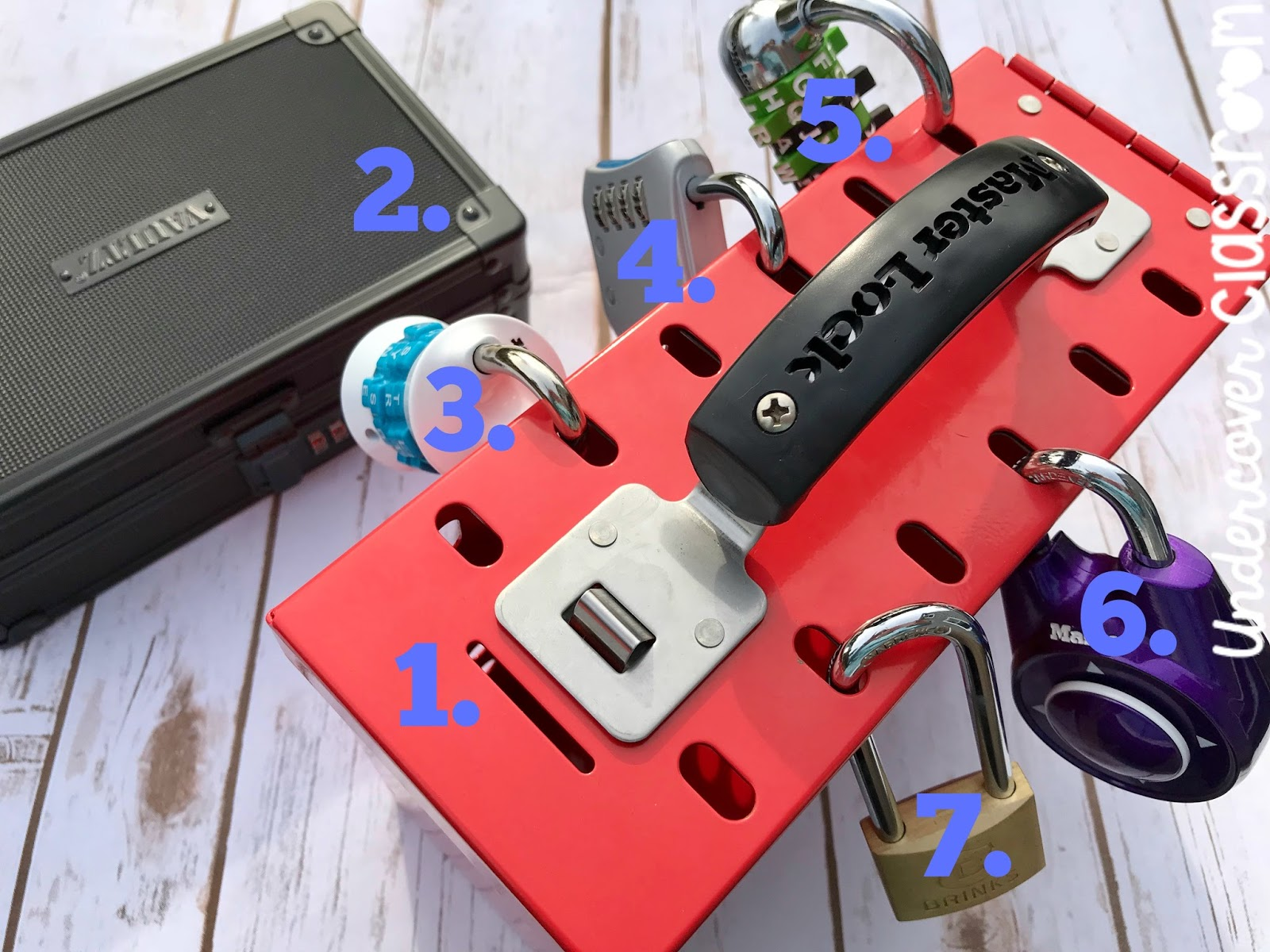 Take a tour of a lockbox setup. Learn about the locks and other supplies you will need to implement a Lockbox Challenge in your classroom.