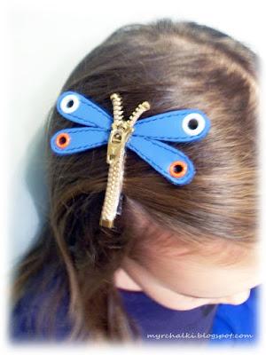детская заколка для волос