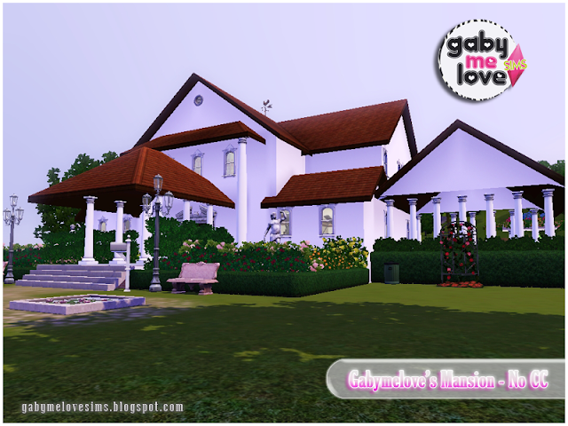 Gabymelove's Mansion |NO CC| ~ Lote Residencial, Sims 3. Vista 1