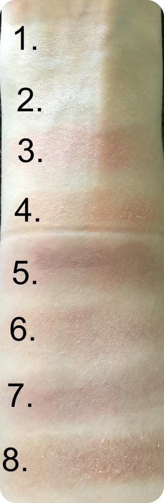 primark ps nudes palette swatches