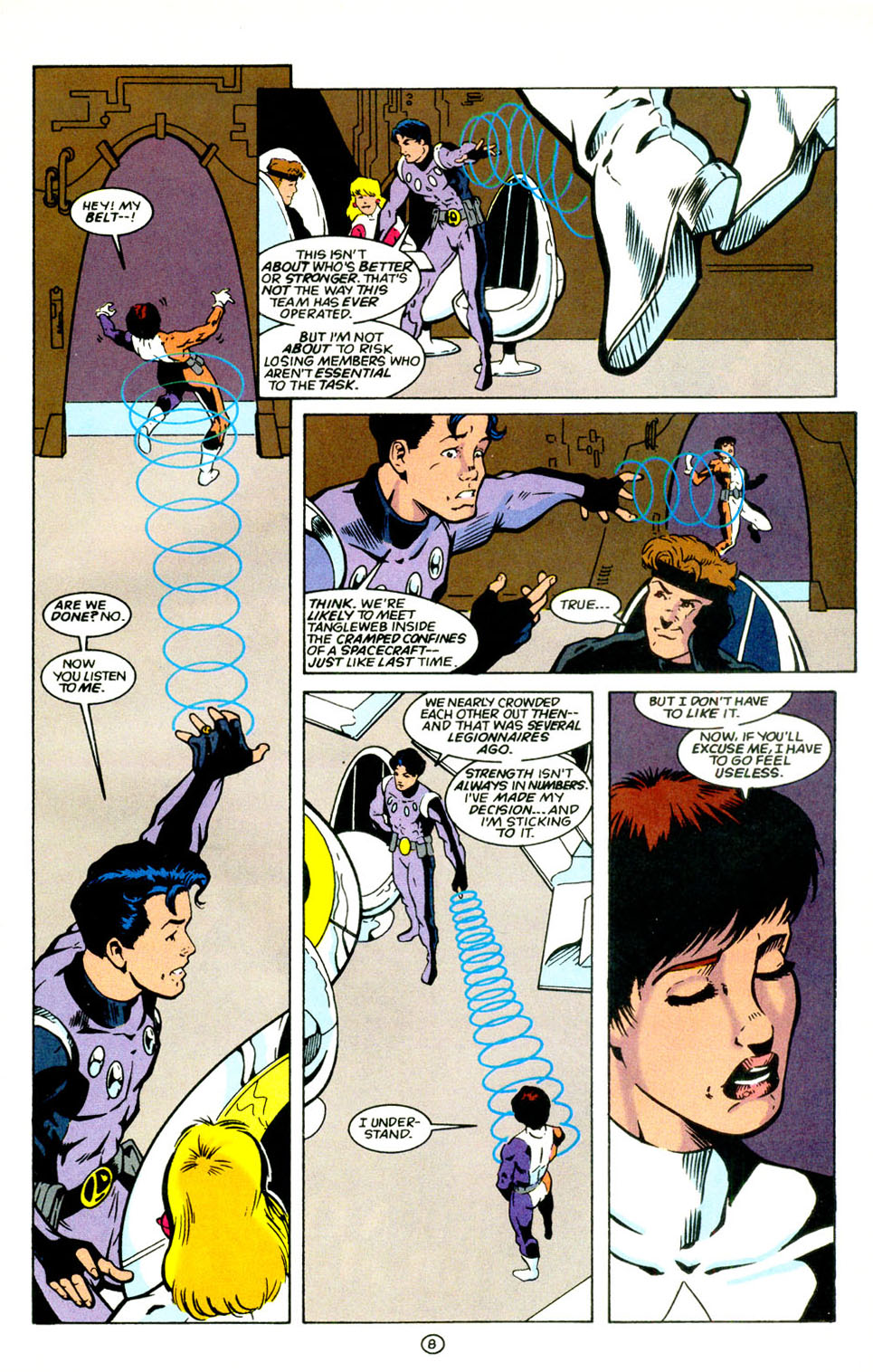 Legion of Super-Heroes (1989) 67 Page 8