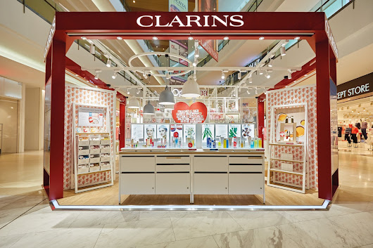 Clarins World's First Retail Kiosk Opening @ IOI City Mall, Putrajaya
