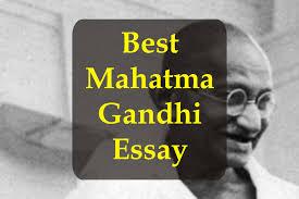 महात्मा गांधी पर हिंदी भाषण निबंध