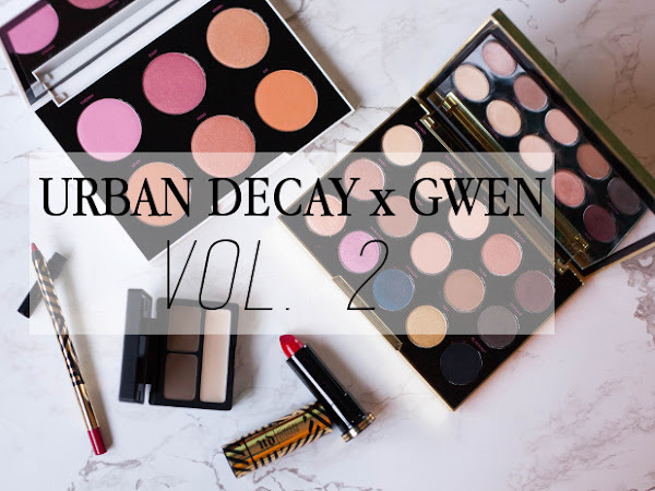 Beauty: Urban Decay x Gwen Stefani blush palette, eyebrow kit and lipstick review