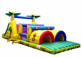 Jungle Obstacle inflatable