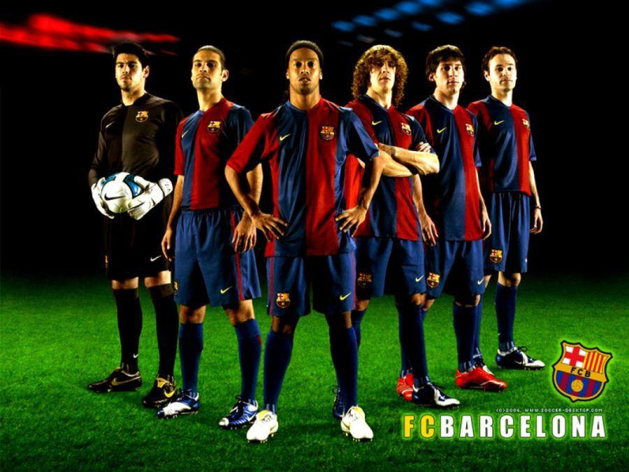 My favorite football club barcelona
