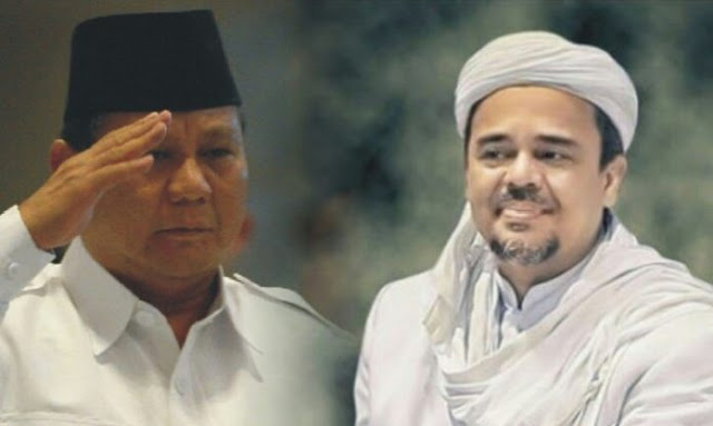 Prabowo Janji akan Jemput Imam Besar FPI Pulang ke Tanah Air