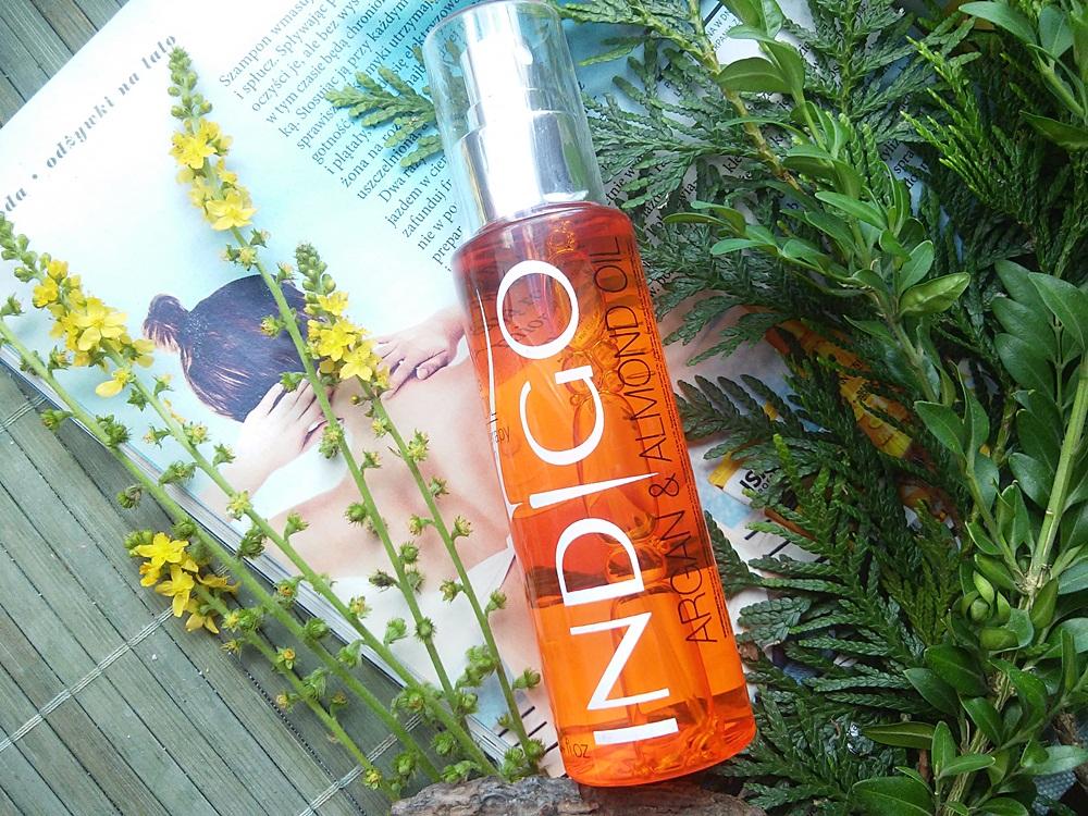 Indigo, Alluring Body Oil, Olejek arganowy po kąpieli