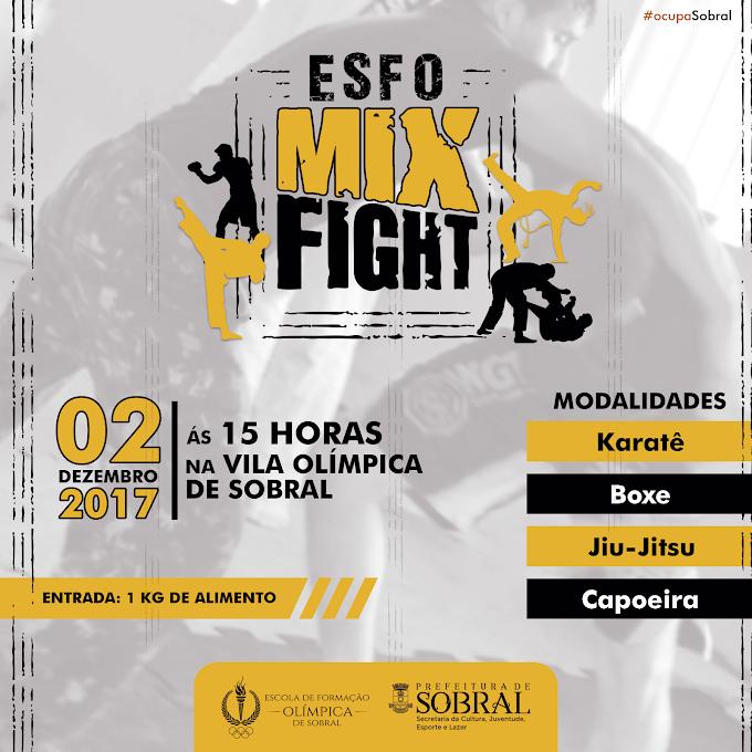 Neste sábado (02/12) | Prefeitura de Sobral realiza I Esfo Mix Fight