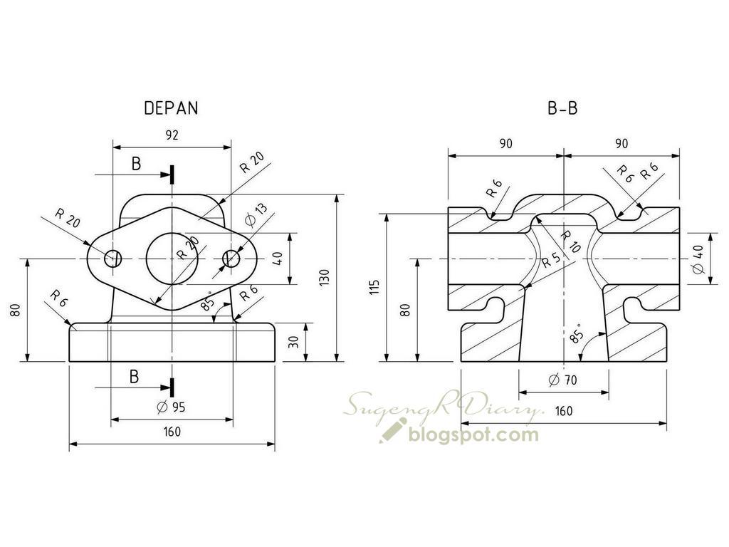 SugengRDiary: Mencoba FreeCAD, Parametric 3D CAD yang Free (3)