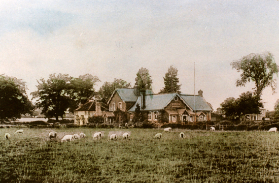 Photograph of the Boys' School, Welham Green