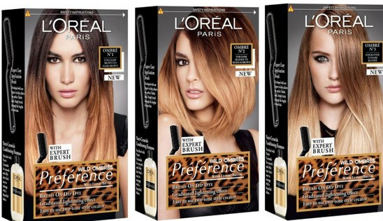 Fine Diy Your Own Ombre Hair With L39Oreal Paris Preference Wild Ombre Short Hairstyles Gunalazisus