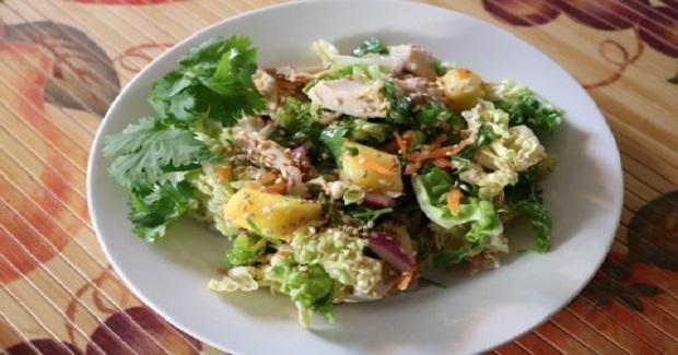 Island Chicken Pineapple Salad Recipe