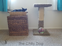 DIY - How to repair and refurbish a cat scratching post with sisal rope.