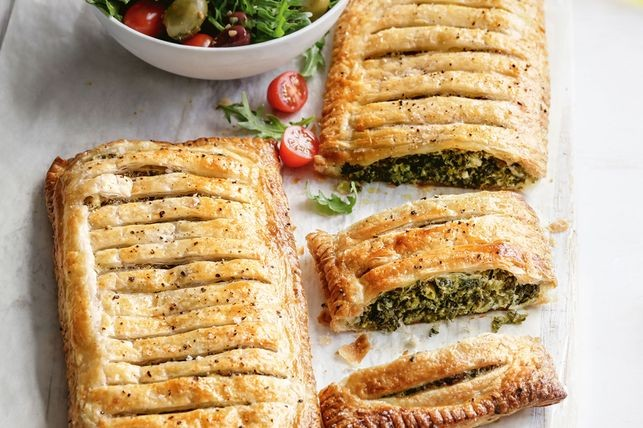 Spinach with Ricotta Pies