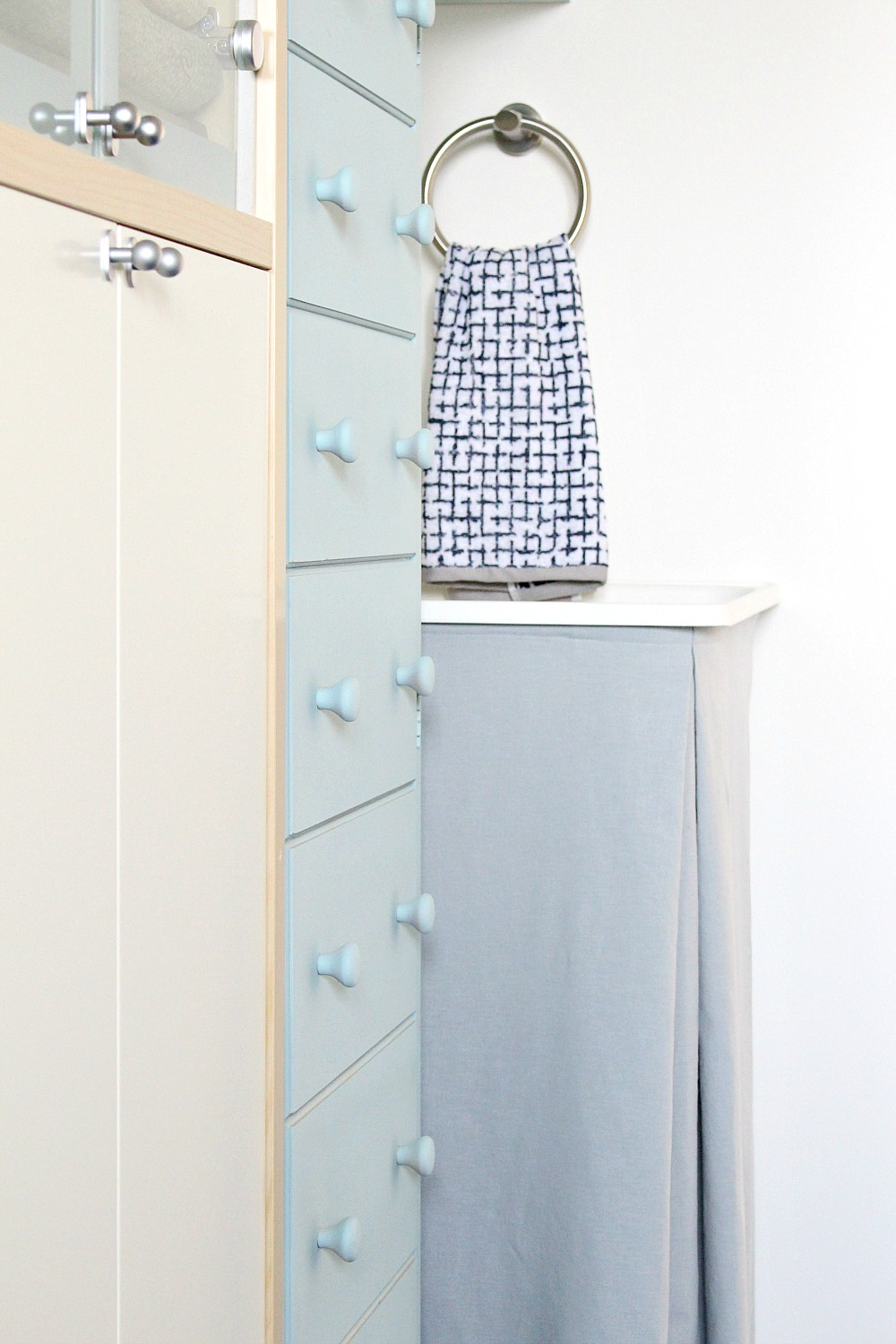 DIY Utility Sink Skirt | New Sink + Faucet for the Fish Room!
