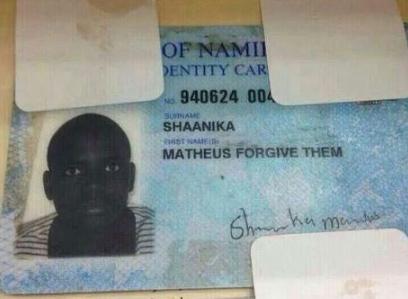 funny namibian names