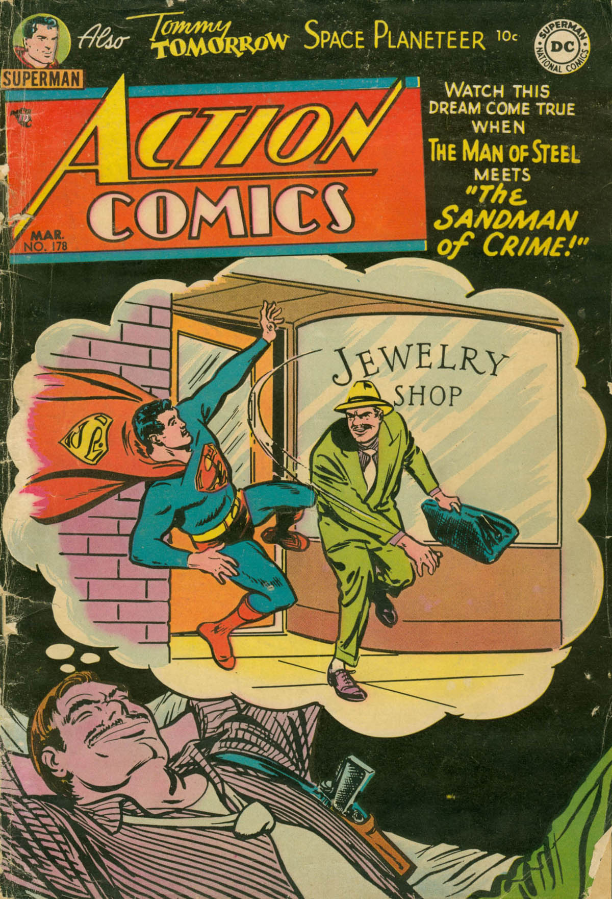 Read online Action Comics (1938) comic -  Issue #178 - 1